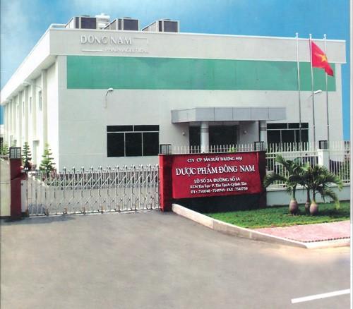 NHÀ MÁY DƯỢC ĐÔNG NAM, KCN TÂN TẠO, TP.HCM