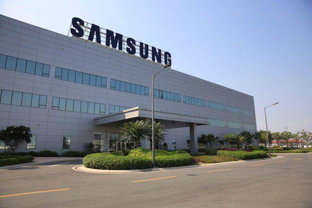 Sơn phủ chống ăn mòn cho nhà máy Samsung Việt Nam